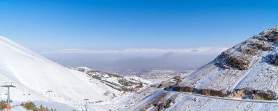 Opinión del día de Erzurum Fotos de archivo