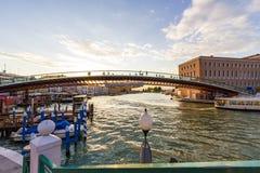 Opinión del ` de Venecia - Italia Imagen de archivo