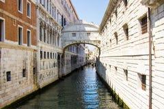 Opinión del ` de Venecia - Italia Fotografía de archivo