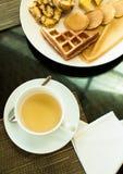 Opinión del desayuno Fotografía de archivo
