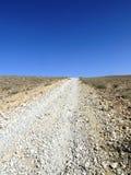 Opinión del desierto Foto de archivo libre de regalías
