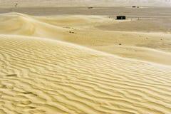 Opinión del desierto de la ONG Jemel en Túnez imagen de archivo libre de regalías