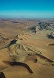 Opinión del desierto del parque nacional de Namib-Naukluft del aire Imagenes de archivo