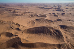 Opinión del desierto del parque nacional de Namib-Naukluft del aire Fotos de archivo libres de regalías