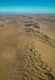 Opinión del desierto del parque nacional de Namib-Naukluft del aire Fotografía de archivo libre de regalías