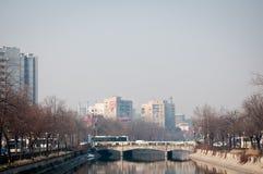 Opinión del distrito de Cotroceni Imagen de archivo