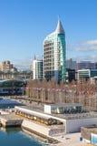Distrito de la expo, Lisboa, Portugal Imagen de archivo
