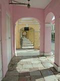 Opinión del dowtown del St. Croix Fotos de archivo libres de regalías