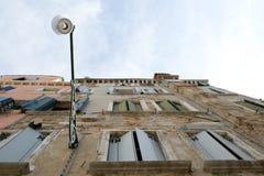 Opinión del edificio. Venecia. Imagenes de archivo