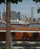 Opinión del embarcadero uno de Nueva York. Fotos de archivo