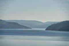 Opinión del fiordo de Saguenay Imagen de archivo libre de regalías