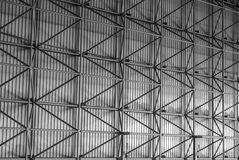 Opinión del fondo de la central eléctrica Foto de archivo