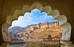 Opinión del fuerte de la India Fotos de archivo libres de regalías