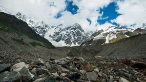 Opinión del glaciar. Imagen de archivo libre de regalías