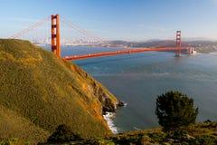 Opinión del Golden Gate de Marin Headlands Imágenes de archivo libres de regalías