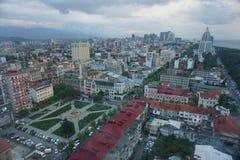Opinión del horizonte de Batumi fotografía de archivo