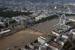 Opinión del horizonte de la ciudad de Londres desde arriba Foto de archivo