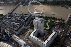 Opinión del horizonte de la ciudad de Londres desde arriba Fotografía de archivo libre de regalías