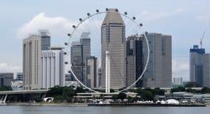 Opinión del horizonte de Singapur - Buidling Imagen de archivo