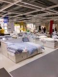 Opinión del interior de Ikea Imagen de archivo libre de regalías