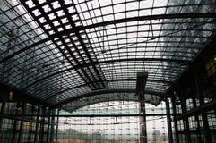 Opinión del interior del DB Europaplatz foto de archivo