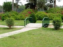 Opinión del jardín Foto de archivo libre de regalías