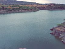 Opinión del lago imagenes de archivo