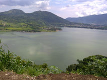 Opinión del lago Foto de archivo