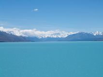 Opinión del lago Imagen de archivo