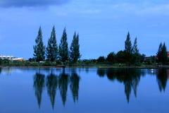 Opinión del lago Fotos de archivo