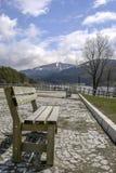 Opinión del lago, Abant Fotos de archivo libres de regalías