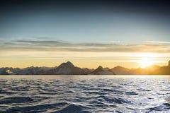 Opinión del lago mountain Foto de archivo