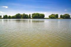 Opinión del lago summer Foto de archivo