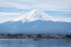 Opinión del lanscape de Fuji Fotografía de archivo libre de regalías