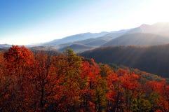 Opinión del lanscape del otoño Foto de archivo libre de regalías