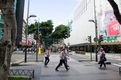 Opinión del Las Palmas, Gran Canaria de la calle Imágenes de archivo libres de regalías
