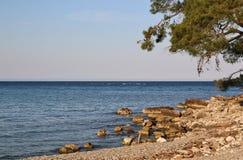 Opinión del mar Fotos de archivo libres de regalías
