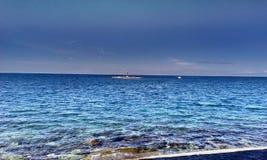 Opinión del mar imagenes de archivo