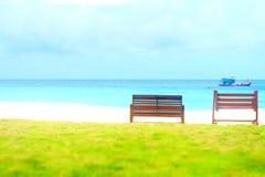 Opinión del mar Foto de archivo libre de regalías