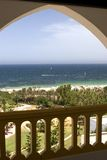 Opinión del mar Imagen de archivo libre de regalías