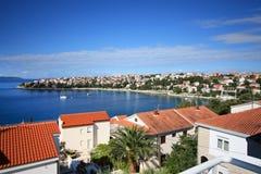 Opinión del mar de Adria Fotos de archivo