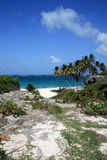 Opinión del mar de Barbados Foto de archivo