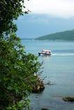 Opinión del mar de Herceg Novi imagen de archivo