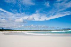 Opinión del mar de las Islas Gal3apagos Imagenes de archivo