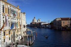 Opinión del mar de Venecia Fotos de archivo