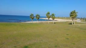 Opinión del mar de Yaffo Israel Imágenes de archivo libres de regalías