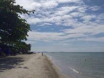 Opinión del mar del paisaje Fotografía de archivo libre de regalías