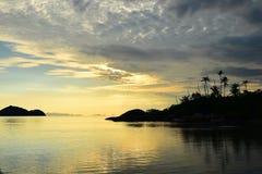 Opinión del mar en Tailandia Fotos de archivo libres de regalías