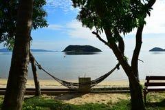 Opinión del mar en Tailandia Fotografía de archivo libre de regalías