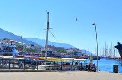 Opinión del mar Marmaris Turquía Imagenes de archivo